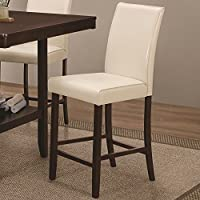 Coaster Home Furnishings 105309 Counter Height Chair, NULL, Cream
