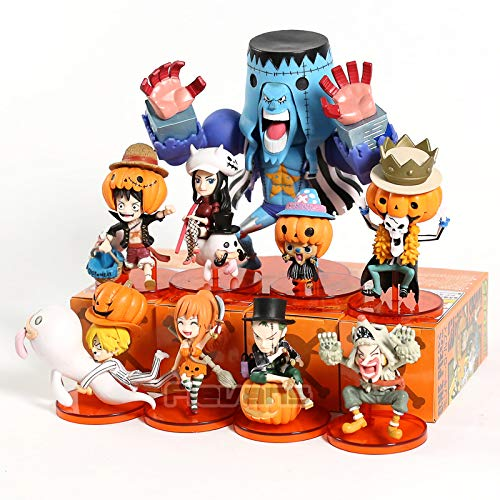 Amazon.com: 9pcs/Set 6-13cm (2.4-5.1 inch) - One Piece ...