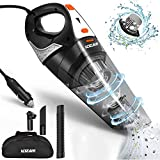 Car Vacuum,LOZAYI High Power DC 12V 5000PA Stronger Suction Car Vacuum Cleaner Wet/Dry Portable Handheld Auto Vacuum Cleaner with 16.4FT Power Cord, Carry Bag, HEPA Filter for Quick Car Cleaning