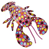 Mary Meyer 17-Inch Hoots Pink Print Lobster Plush