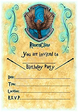 Harry Potter Geburtstag Party Ladt Hogwarts Ravenclaw Thema Party