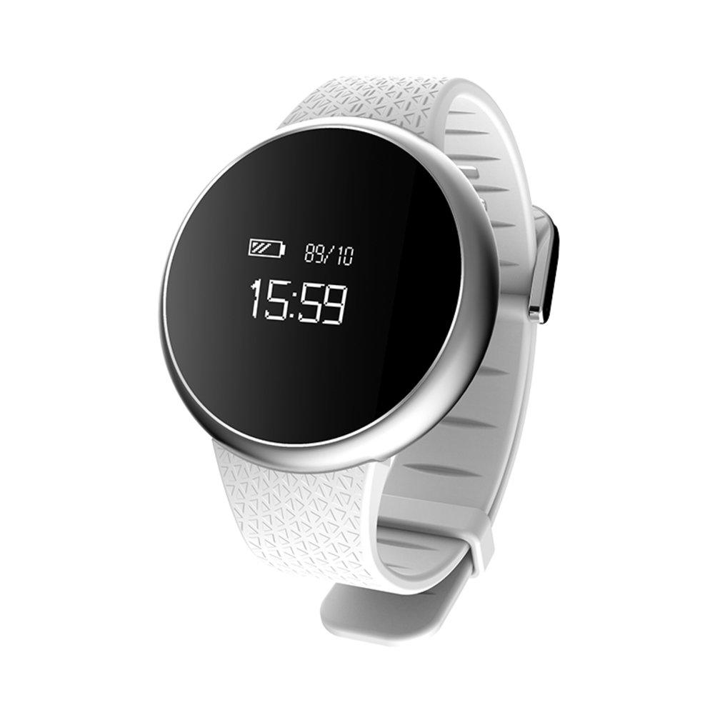 スマートブレスレット、ハートレート血圧モニタ、Bluetoothスポーツ紛失防止、歩数計スリープ監視防水、メンズorレディース電子watch-b B078PMPZY3