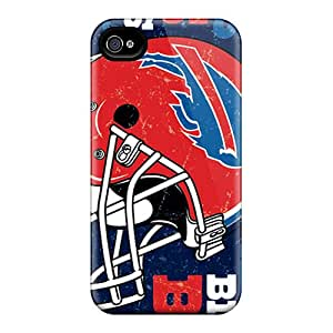 PhilHolmes Iphone 4/4s Great Hard Phone Cases Unique Design Realistic Buffalo Bills Image [ati5202KVXL]