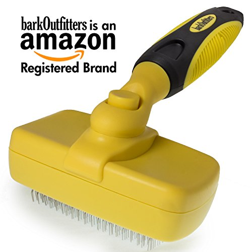 barkOutfitters Cat Slicker Brush, Quick Self-Cleaning Pro Quality Grooming Comb for Cats by barkOutfitters (Image #8)