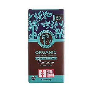 Equal Exchange Organic Panama Extra Dark Chocolate, 2.8 Ounce (Pack of 6)