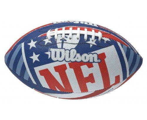 Wilson Nfl Team Logo Football F1525xrwb Homme Ballone Football Americain Bleu