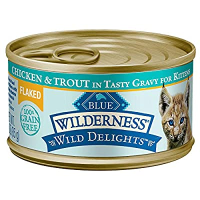 Cat Food Blue Wilderness Wild Delights High Protein Grain Free Wet Cat... [tag]
