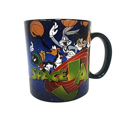 Space Jam 20oz Jumbo Ceramic Mug Coffee Bugs Bunny Daffy Duck Taz Marvin - Mug Cheetah