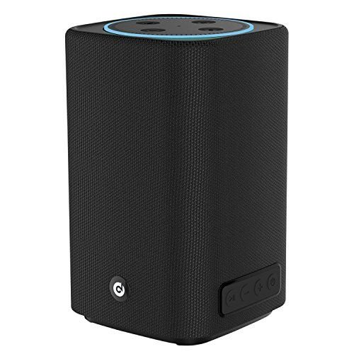 DOSS PowerBox Bluetooth Speaker, Applicable to Dot 2nd Generation, Portable Wireless Bluetooth 4.0 Speakers with HD Sound and Booming Bass, Long Playtime for iPhone, iPad, Samsung, Tablet-Black by DOSS