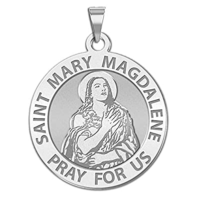 Amazon saint mary magdalene religious medal 23 inch size of saint mary magdalene religious medal 23 inch size of dime sterling silver mozeypictures Gallery