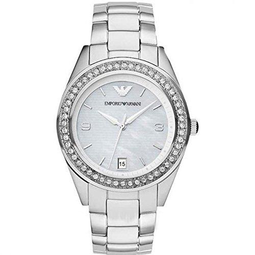 Amazon.com: Watch Emporio Armani Leo Ar5992 Women´s Silver ...