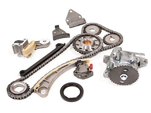 (Evergreen TK8004OP Chevrolet Suzuki J18A J20A Timing Chain Kit and Oil Pump (with Gears))