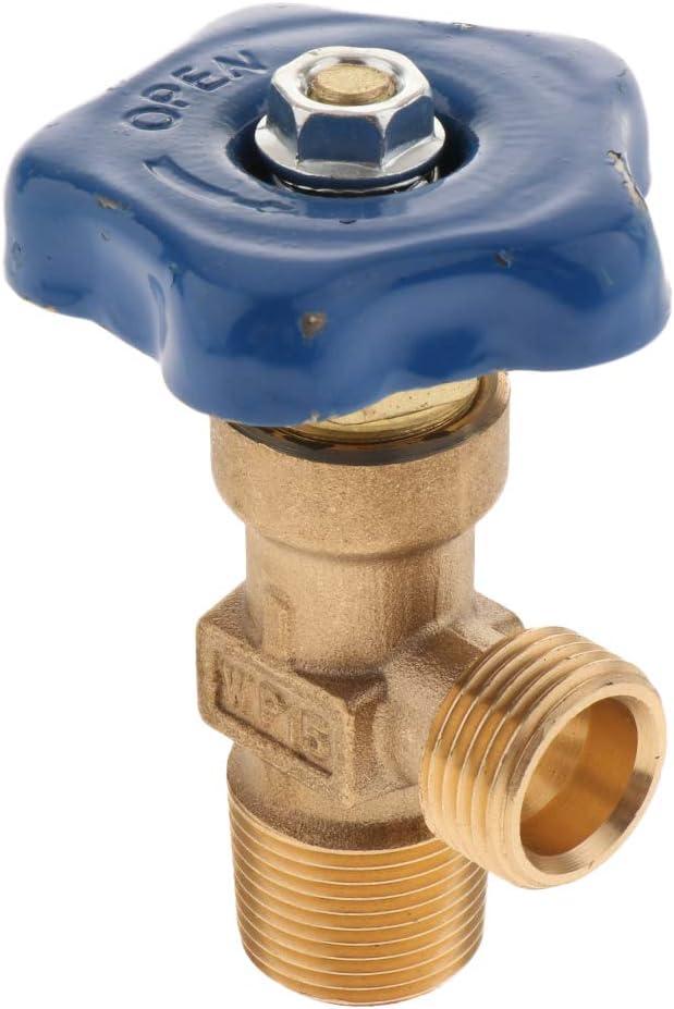 Der Aufblasbares Gelenk Wiederholt H HILABEE Argon Gasflaschen Adapter Gasbeh/älter Im Freien