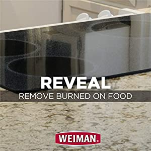 Weiman Glass Cooktop Cleaner - reveal