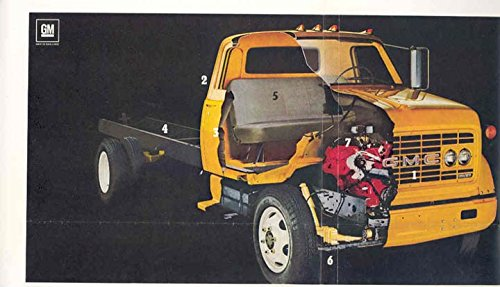 amazon com 1968 gmc medium duty truck color ad proof entertainment