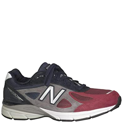the latest c942e df8c6 Amazon.com | New Balance Men's M990V4 Running Shoes Grey ...