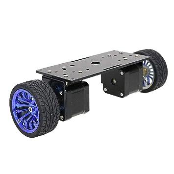 H HILABEE Robot Smart Car Platform Aleación De Aluminio Chasis ...