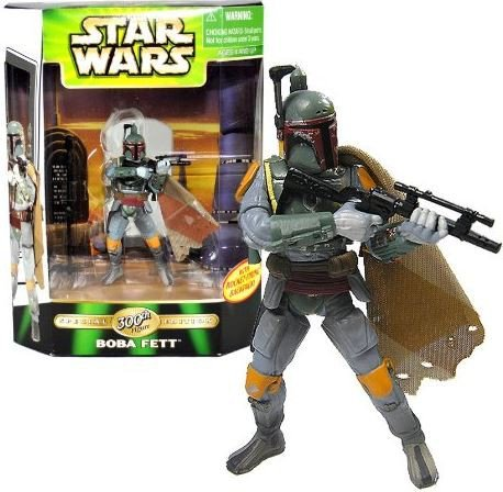 Star Wars POTF2 Power of the Force Special Edition 300th Action Figure Boba Fett (Boba Fett Model)