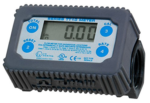 Tuthill TT10PN 2 - 35 GPM In-Line Digital Turbine Chemical Meter