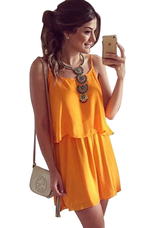 Molly Frauen Lässig Solide Farbe Hosenträger Rock Sets Schaukel Kleid