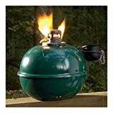 Kerosene Oil Hurricane Lantern SMUDGE POT Camping Lamp Emergency Light Citron