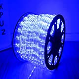 """Best Rope Light For Seasonal Decoratives - HuiZhen 100ft 1/2"""" Thick 2-Wire Waterproof LED Rope Review"""