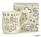 Oh Holy Night Ceramic Hand Painted Coffee Mug