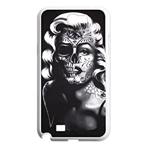 Skull For Samsung Galaxy Note 2 N7100 Csae protection phone Case FXU338882