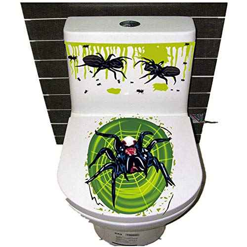 Halloween Decor Clearance KIKOY Thriller Theme Toilet Cover