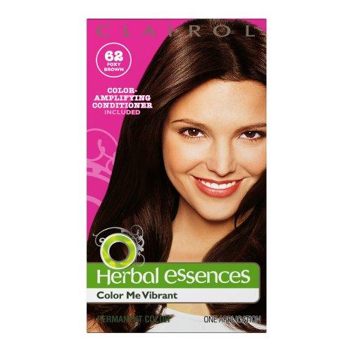 - Clairol Herbal Essence Color, 062 Foxy Brown-medium Brown (Pack of 3)