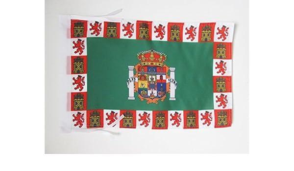 BANDERINA HUELVA ENANDALUCÍA 30 x 4 BANDERA de la PROVINCIA DE HUELVA 45x30cm