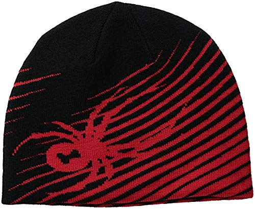 (Spyder Boys Throwback Hat, Black/Formula, One Size)