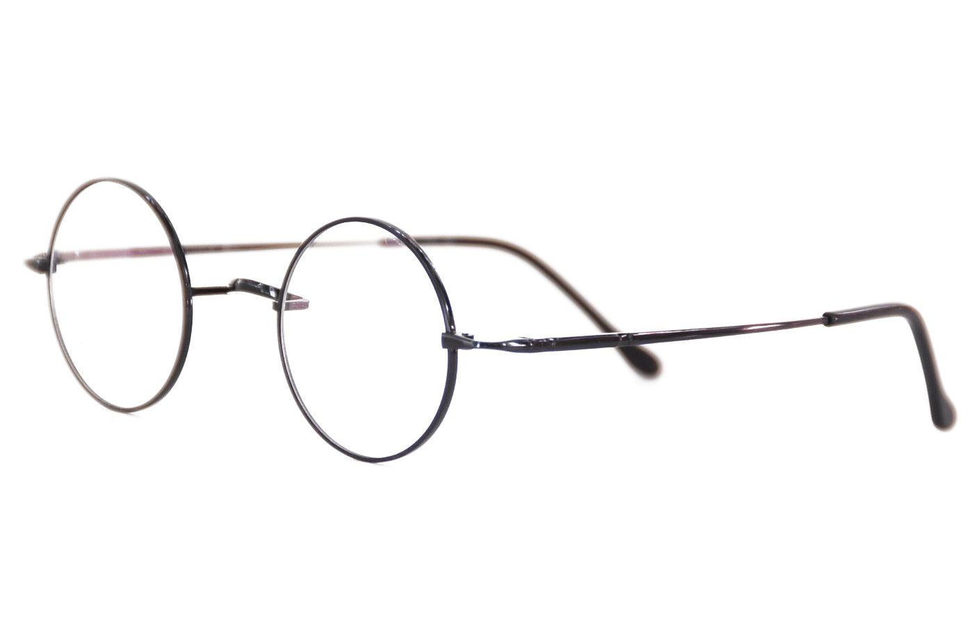 2a095fe341 Galleon - Agstum Pure Titanium Retro Round Prescription Eyeglasses Frame (Without  Nose Pads) (Grey
