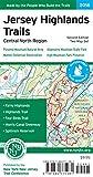 Jersey Highlands Trails: Central North Region Map