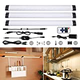 TryLight Dimmable 3 Panels Kit, Warm White with Remote Control LED Closet Light,LED Sritps