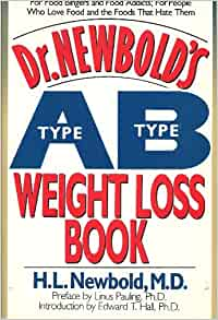 Dr. Newbold's Type A/Type B Weight Loss Book: H. L
