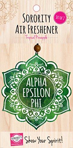 Alpha Epsilon Phi - Mandala Air Freshener - 2/Pack