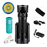 Olight R50 PRO Seeker LE Kit 3200 Lumens Cree XHP70 LED Variable-output Rechargeable Side Switch LED Flashlight (Law Enforcement Kit)