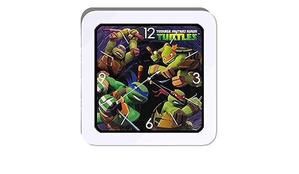 despertador Tortugas Ninja: Amazon.es: Hogar