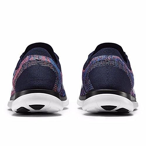 Nike Free 4.0 Flyknit, pantofole da uomo DARK OSSIDIANA