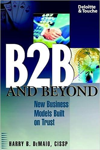 Téléchargement de livres KindleB2B and Beyond: New Business Models Built on Trust (Littérature Française) PDF CHM ePub by Harry B. DeMaio