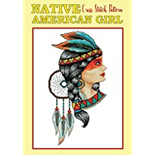 Native American Girl Cross Stitch Pattern: New Cross Stitch Motifs