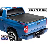 Gator ETX Soft Tri-Fold Truck Bed Tonneau Cover | 59410 | fits Toyota Tacoma 2016-19 (6 ft bed)