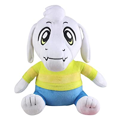 LevinArt 25-30cm 1pcs Undertale Plush Toy Undertale Sans Papyrus Frisk Chara Temmie Undyne Plush Stuffed Toys Doll Gift for Children Kids (Asriel): Toys & Games