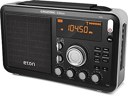 Amazon.com: Eton Field AM / FM / Shortwave Radio with RDS, NGWFB ...