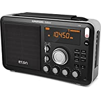 Eton Field AM/FM with RDS and Shortwave Radio, Black (NGWFB)