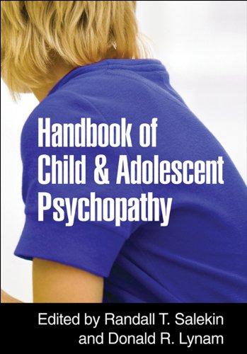 Download Handbook of Child and Adolescent Psychopathy Pdf