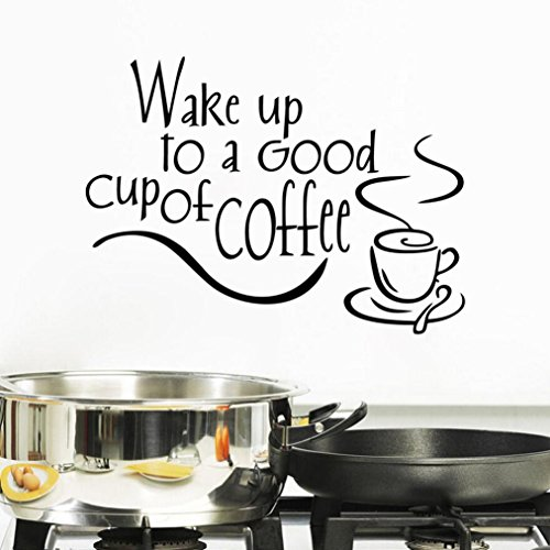 swenice New Arrival Beautiful Design Coffee Mugs Tea Coffee Art Decal Vinyl Wall Sticker