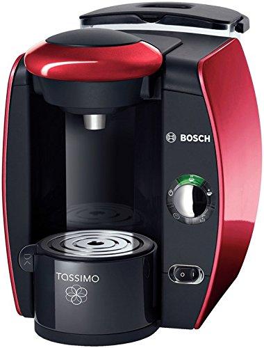 Bosch Tassimo TAS4013EE Máquina de café en cápsulas Negro, Rojo - Cafetera (Máquina de