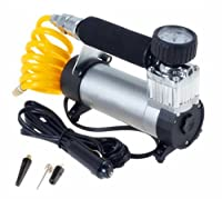Big-Autoparts Professional Mini Portable Metal Cylinder Air Compressor 12v 150 PSI Electric Tire Air Inflator Pump